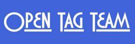 Logo Open Tag Team 720x240 bg blue